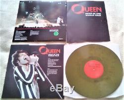 Nouvelles Du World Tour 2020 Limited Edition Triple Green Olive Lp Par La Reine