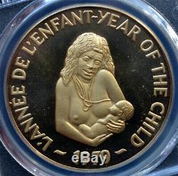 Nouvelles Hebrides 500 Francs 1979 Pcgs Sp66 'année De L'enfant' Rare Mtg. 80