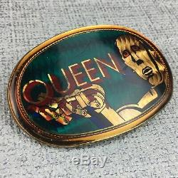 Nouvelles Reine De La Boucle De Ceinture Mondiale Pacifica (1977) Rare