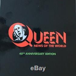 Nouvelles Reine Du Vinyle World Lp CD & DVD Box Set Nouveau 2017