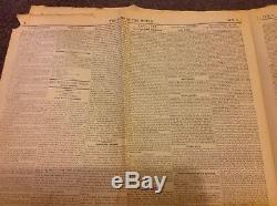 Original Premier Ajout La Nouvelle Du Monde 1er Octobre 1843