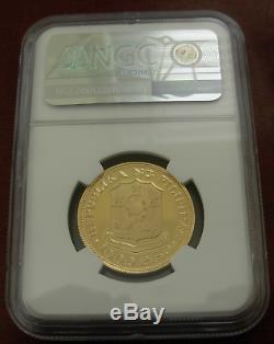 Philippines 1975 Gold 1000 Piso Ngc Pf68uc 3ème Anniversaire De La Nouvelle Société