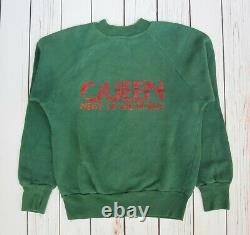 Queen 1977 News Of The World Emi Promotional Sweatshirt Promo Sweater