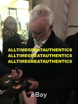 Queen Brian May Roger Taylor Signé Nouvelles Du Monde Album Vinyl Record Lp Bas