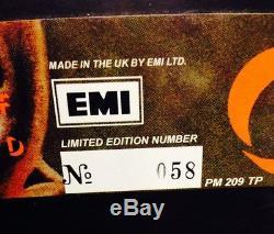 Queen New Of The World Lp Vinyl Gris N ° 058 Ltd Ed Emi Uk Mint