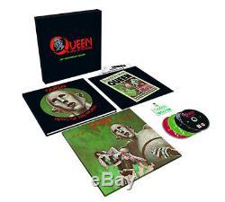 Queen News Du Monde CD 40ème Anniversaire 12 Album Avec CD Et DVD 5