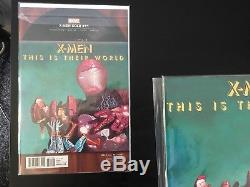 Queen News Du Monde Marvel X Men Comic Con Exclusivité Rare Vinyl Record Lp