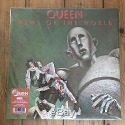 Queen News Du Monde Vinyl Marvel X-men Comic Con Mega Rare 220 Uniquement