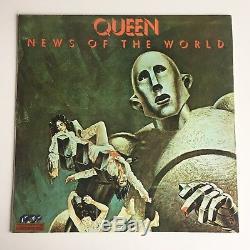 Queen News Of The World 12 Album Vinyl (turquie) 1978 Méga Rare