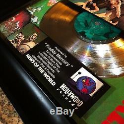 Queen News Of The World Album De Disque De Disque De Disque D'argent De Disque De Disque D'argent Freddy Mercury