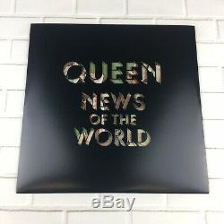 Queen News Of The World Edition 12 Disques D'images De Vinyle U. K (2017) Rare