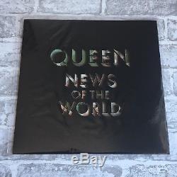 Queen News Of The World Edition Limitée À 12 Images (u.k) 2017 Mega Rare