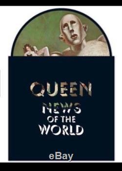 Queen News Of The World Édition Limitée Vinyle Picture Disc