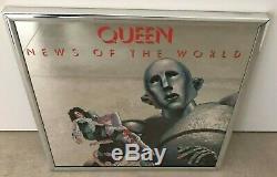 Queen News Of The World États-unis Rétroviseur Promo Elektra -12 Taille Rare
