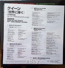 Queen News Of The World Japan 3 X Shm CD + Lp + DVD + Livre Super Deluxe Box Scellé
