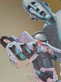 Queen, News Of The World Rare Promo Mirror De 1977 Very Rare