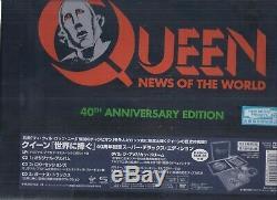 Queen Nouvelles Du Monde Anniversaire 40e Japan Shm 3 CD + Lp + DVD Super Deluxe Box