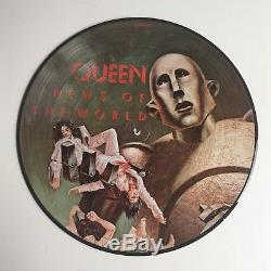 Queen Nouvelles Du Monde Edition Limitée 12 Picture Disc Mega Rare