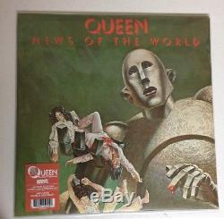 Queen Nouvelles Du Monde X-men Marvel Vinyl Lp Spécial Limited Edition Comic-con