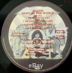 Queen Nouvelles Du Royaume-uni Monde Emi Ema 784 -1 / -2 Mint Lp