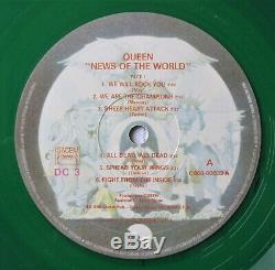 Queen Nouvelles Du Vinyle Du Monde Français 1978 De Couleur Verte Lp Album France