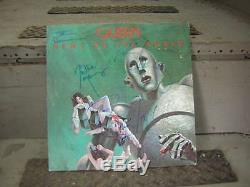 Queen Signed Lp Nouvelles Du Monde Freddie Mercury May Deacon Taylor 1977