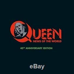 Queen-news Du Monde 40ème Anniversaire Super Deluxe Editi (import Américain) CD Nouveau