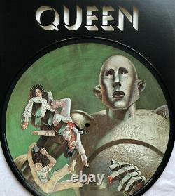 Queen -news Of The World- Ultra Rare Picture Disc Limited To 1977 Copies Pressed