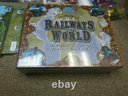 Railways Of The World Jeu De Société Avec De Nombreuses Extensions Et Playmat! Nouveau! Nippon