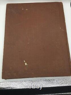Rare Antique 1890 Rand Mcnally Nouvelle Norme Atlas Des Cartes Antiques Du Monde
