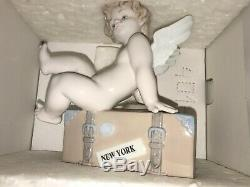 Rare Lladro Figure 010,07310 Voyage Dans Le Monde De New York Lladro Mint Avec Box