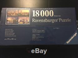 Rare Nouveau Puzzle De Ravensburger 18000 Pièces Horizons Du Monde New York 9-11