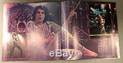 Reine 1977 Nouvelles Du Monde Programme Du Concert De La Tournée Américaine