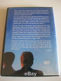 Reine Des Champions Du Monde (dvd) Nouveau Région 0 Oop Rare Freddie Mercury