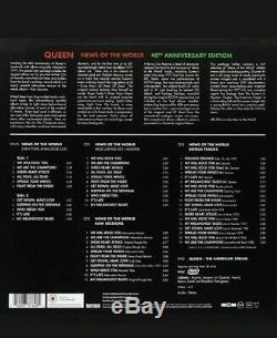 Reine Nouvelles Du 40e Anniversaire Du Monde (2017) Edition Box Vinyle + 3cd + DVD -lire