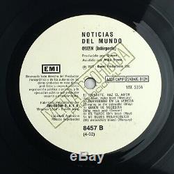 Reine Nouvelles Du Monde 12 Album Disque Vinyle Promo (argentine) 1977