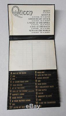 Reine Nouvelles Du Monde 1977 Allemand Promo Only Livre Téléphonique Freddie Mercury Vg