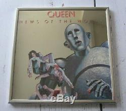 Reine Nouvelles Du Monde 1977 Elektra Records USA Promo Album Miroir