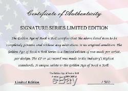 Reine Nouvelles Du Monde Encadré Or Signature Signature Lp M4