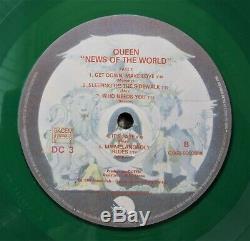 Reine Nouvelles Du Monde French 1977 Album En Vinyle Vert Lp Couleur France