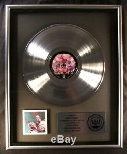 Reine Nouvelles Du Monde Lp Platinum Riaa Record Award Elektra Records Freddie