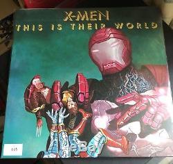 Reine Nouvelles Du Monde Ltd Edition Marvel X-men Comic Con Édition Vinyle Lp No35
