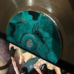 Reine Nouvelles Du Monde Million Enregistrement Sals Emusic Award Vinyle Lp Freddy Mercury