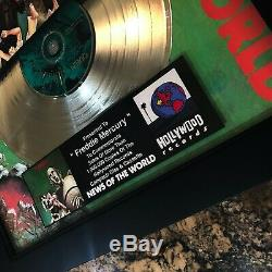 Reine Nouvelles Du Monde Million Record Sales Music Award Vinyle Freddie Mercury