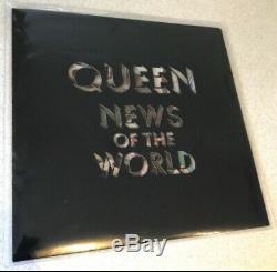Reine Nouvelles Du Monde Numéroté Vinyl Limited Edition Picture Disc Lp 1977 Seulement