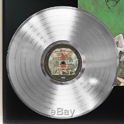 Reine Nouvelles Du Monde Platinum Lp Ltd Signature Afficher Record