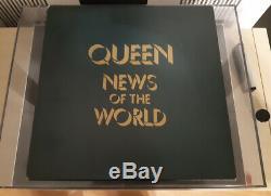 Reine. Nouvelles Du Monde, Royaume-uni Promo Box, 1977