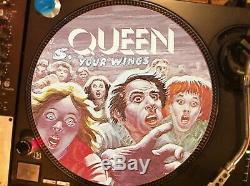 Reine Spread Your Wings (nouvelles Du Monde) Mega Rare 12 Picture Disc Lp Nm