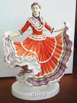 Royal Doulton Dances Of The World Mexican Hat Dance Figurine Hn5643 Ltd Ed -nouveau
