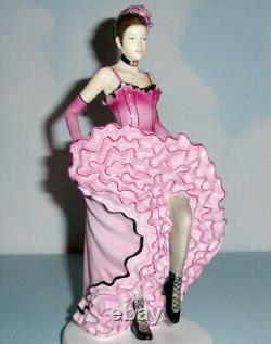 Royal Doulton Français Can Can Dancer Dances Of The World Figurine #hn5571 Nouveau